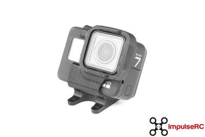 Apex TPU GoPro Hero7 Mount - 30 Degrees BLACK