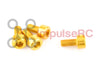 M3 x 6mm - Aluminium Cap Screw Gold (4 Pack)