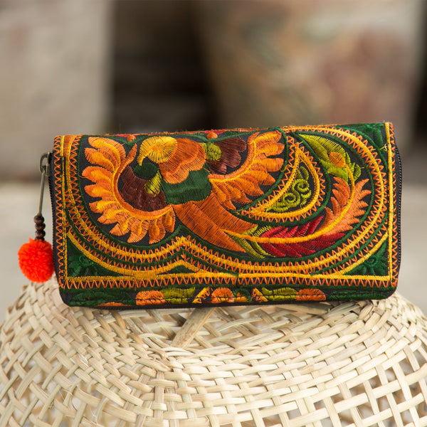 Hmong Embroidered Wallet