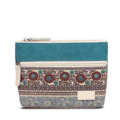 Patch Pocket Canvas Pouch (2 Colors)