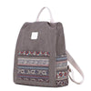 Patch Pocket Canvas Backpack (3 Colors)