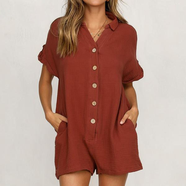 River Cotton Playsuit (4 Colors)