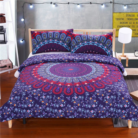 Luxurious Cosmic Spirit Mandala Bedding Set