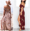Romantic Floral Maxi Dress (4 Colors)