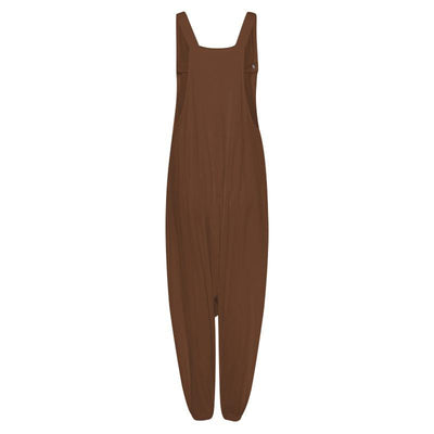 Wanda Drop Crotch Overalls (3 Colors)