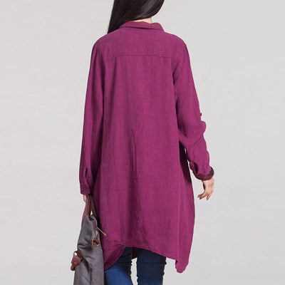 Minimal Cotton Shirt (3 Colors)