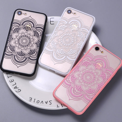 Flower Mandala Phone Case (3 Colors)