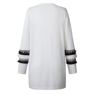 Boho Embroidered Sleeve Cardigan (3 Colors)