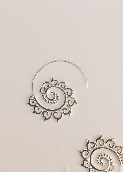 Spiral Hippie Earrings (2 Colors)