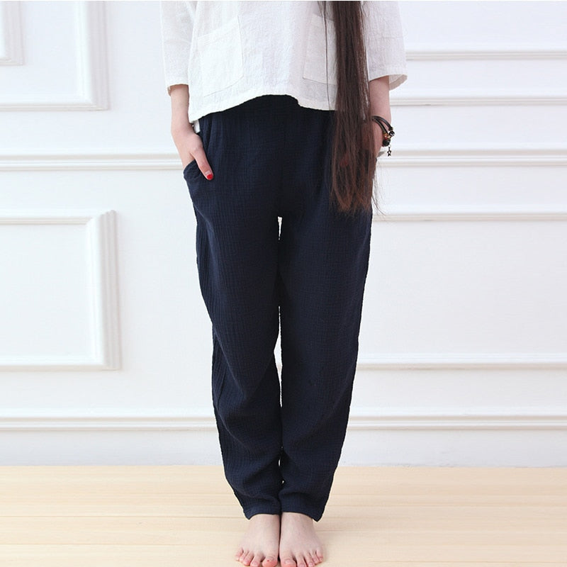 Casual Cotton and Linen Pants (8 Colors)