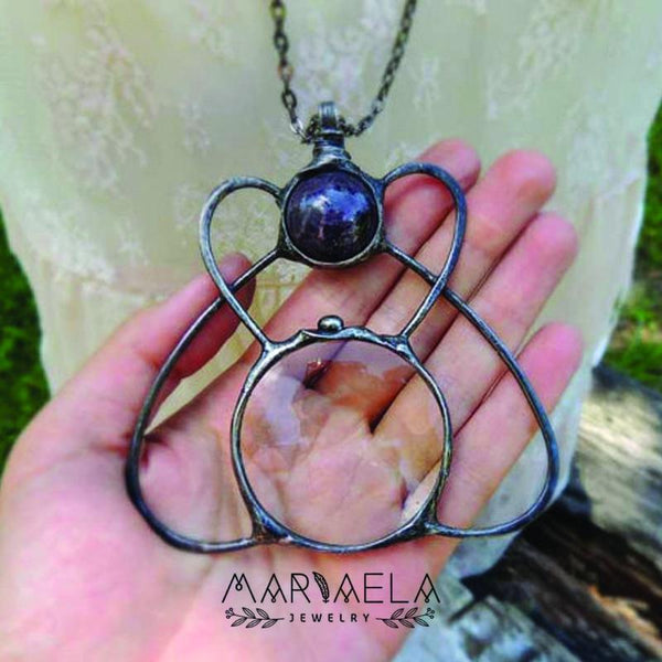 Mystical Loupe Necklace