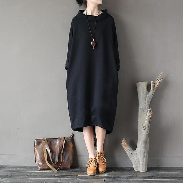 Casual Sweater Dress (3 Colors)