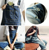 Casual Distressed Denim Overalls (2 Colors)