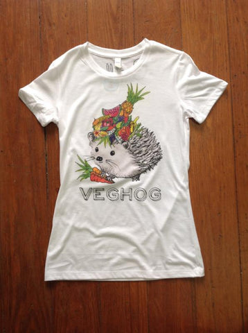 Veghog Women's Tee (3 Colors)- Cocoally