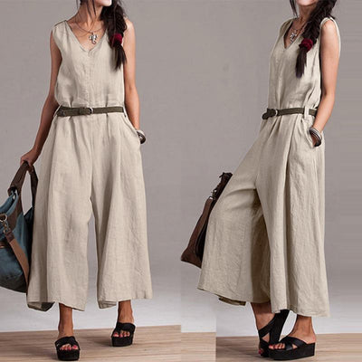 Bali Cotton Jumpsuit (3 Colors)