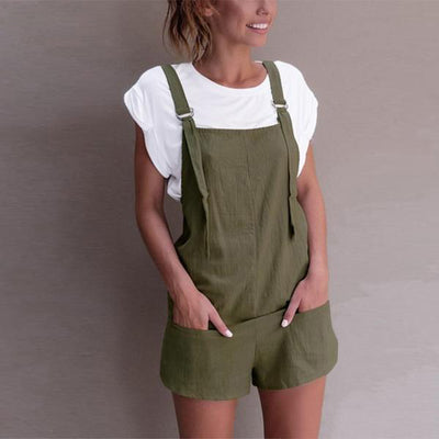 Spring Overall Shorts (2 Colors)