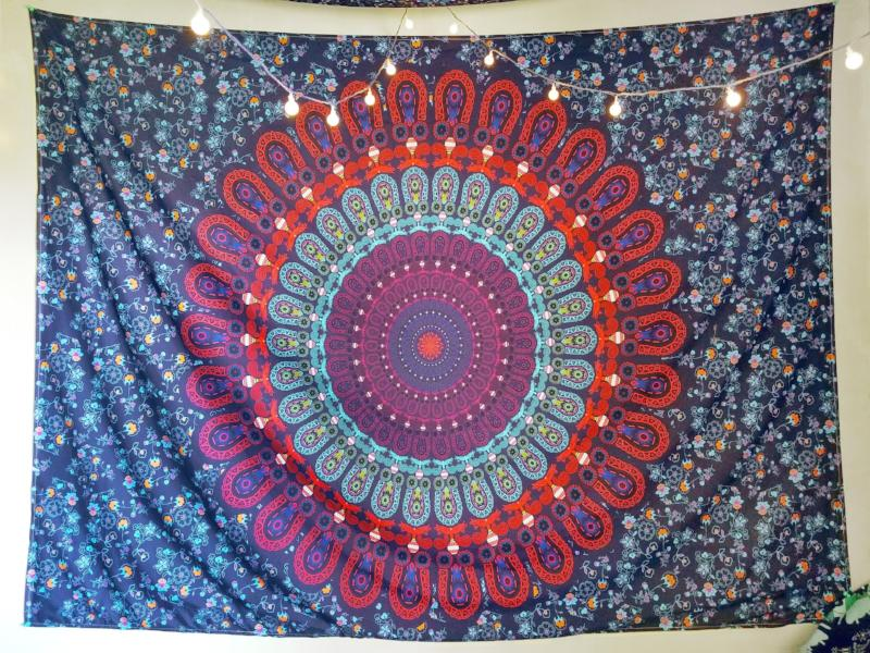 Cosmic Purple Tapestry