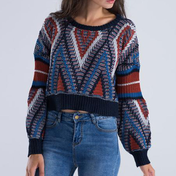 Alaska Crop Sweater