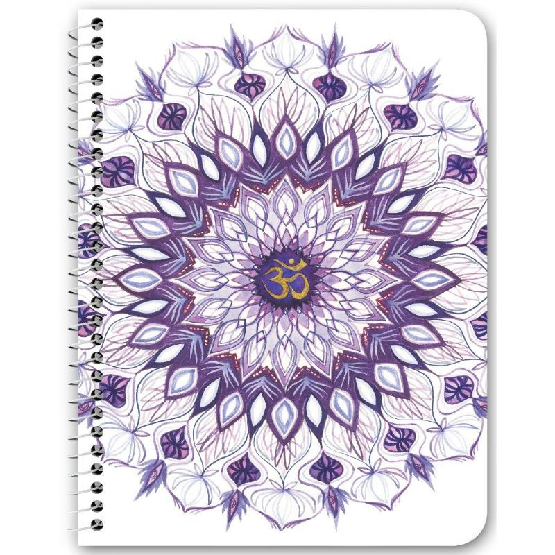Spiral Notebook - Crown Chakra