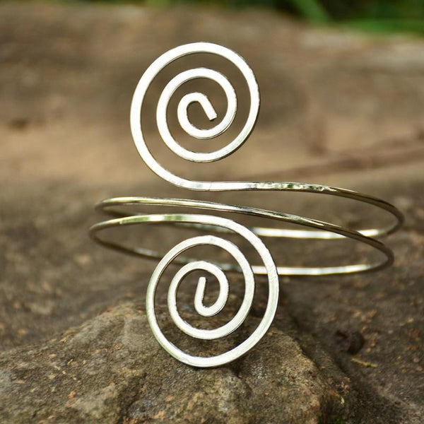 Celtic Spiral Arm Cuff (2 Colors)