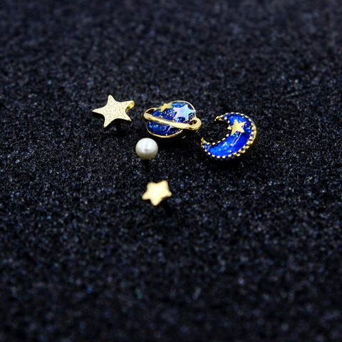 Cosmic Stud Earrings Set