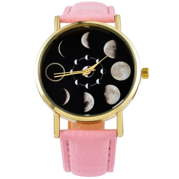 Sponsored Giveaway: Moon Phases Watch (10 Colors)