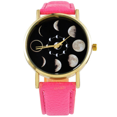 Moon Phases Watch (10 Colors)