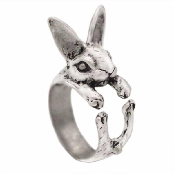 Rabbit Wrap Around Ring (3 Colors)