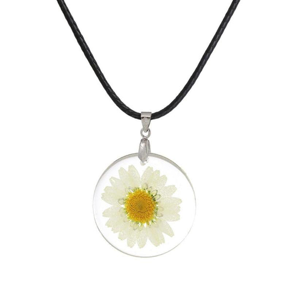 Hippie Flower Pendant Necklace (5 Styles)