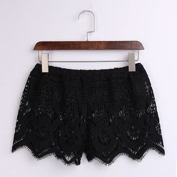 Beachy Lace Shorts (2 Colors)