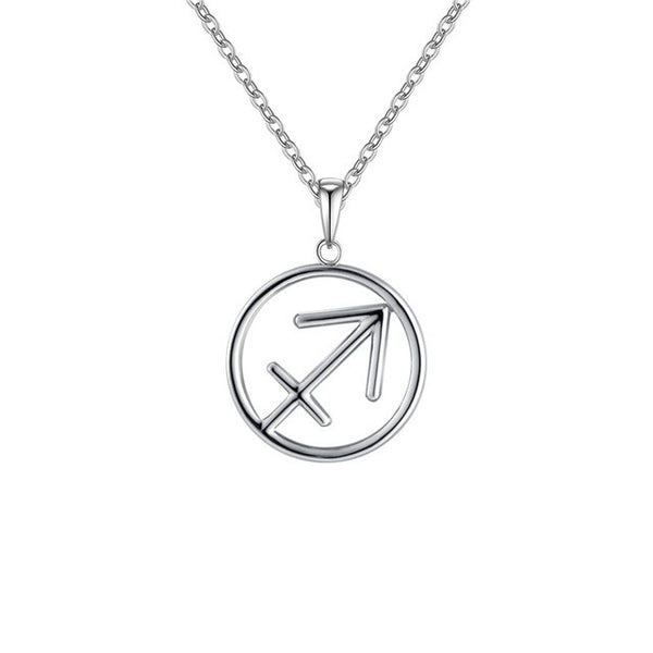 Zodiac Pendant Necklace (4 Colors)
