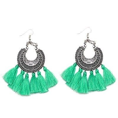 Bali Tassel Earrings (5 Colors)