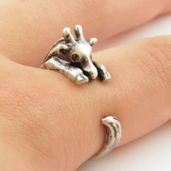 Giraffe Wrap Around Ring (2 Colors)