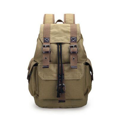Traveller Canvas Backpack (3 Colors)
