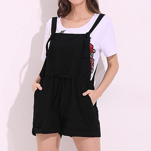 Casual Overall Shorts (2 Colors)
