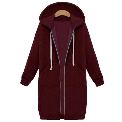 Long Casual Hoodie (9 Colors)