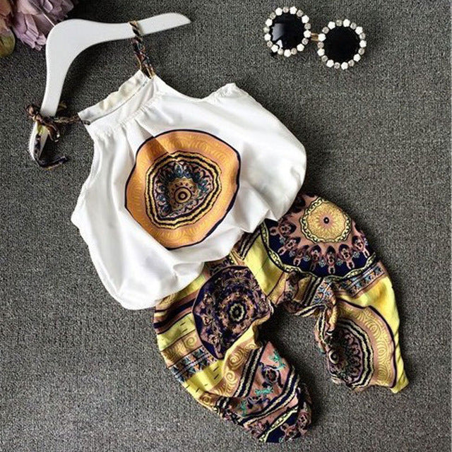 Boho Baby Two Piece Set (2 Colors)