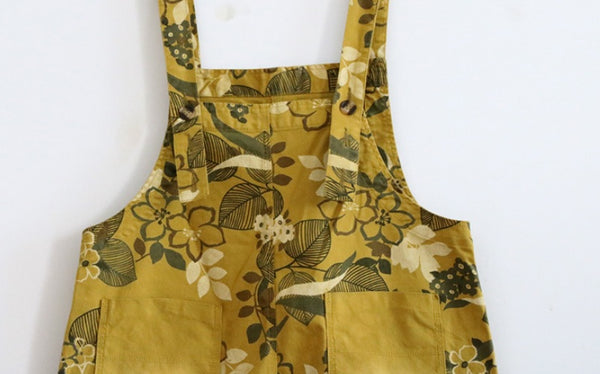 Jungle Flower Overalls (2 Colors)