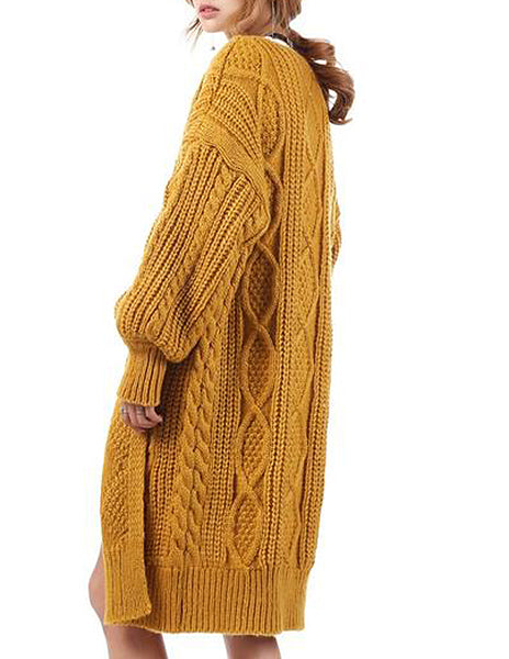 Chunky Knit Hippie Cardigan (3 Colors)