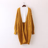Chunky Knit Hippie Cardigan (2 Colors)