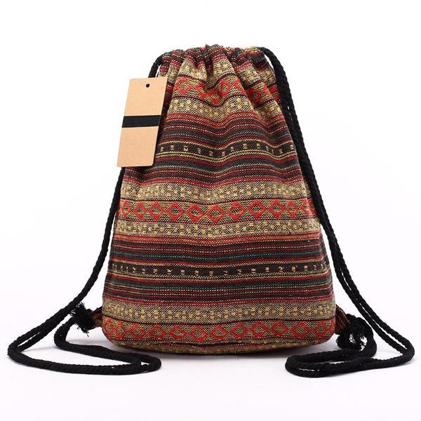 Fall Drawstring Backpack