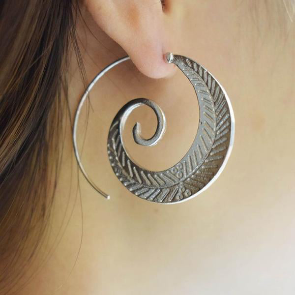 Tranquility Spiral Earrings (2 Colors)