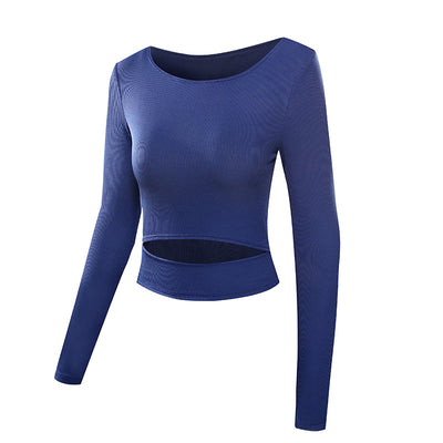 Long Sleeve Yoga Top (2 Colors)