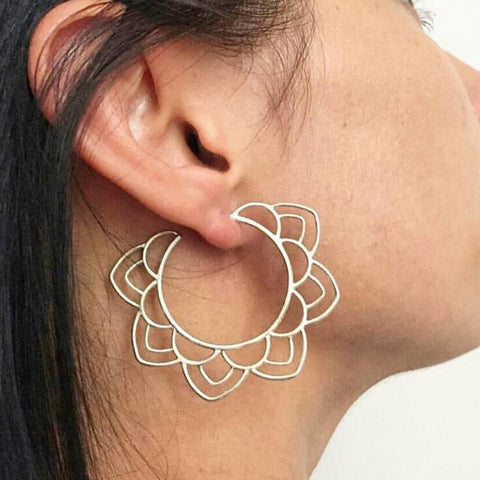 Solar Hoop Earrings (2 Colors)