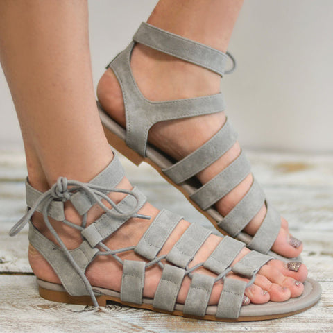 Goddess Gladiator Sandals (3 Colors)