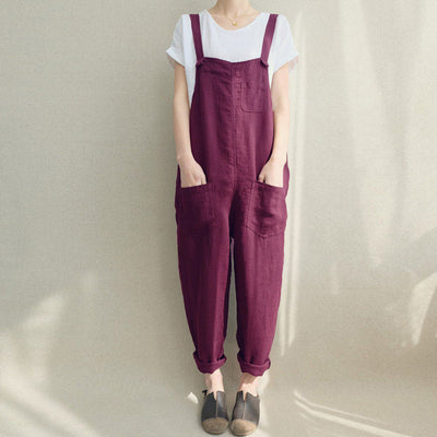 Lula Cotton Overalls (4 Colors)