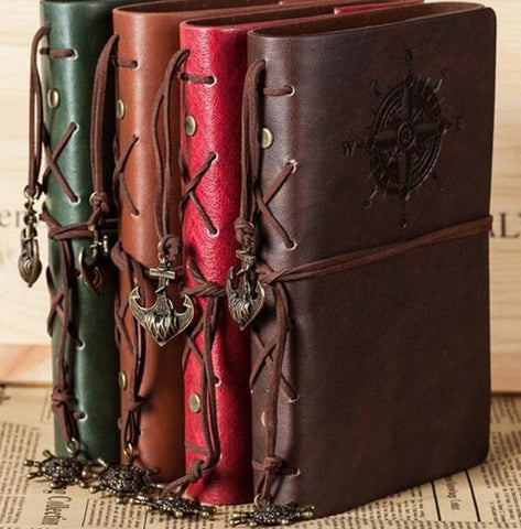 World Traveller Vegan Leather Journal (6 Colors)