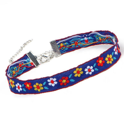 Floral Hippie Choker (3 Styles)