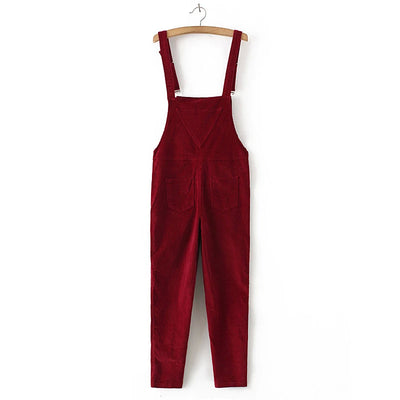 Chance Cord Overalls (3 Colors)