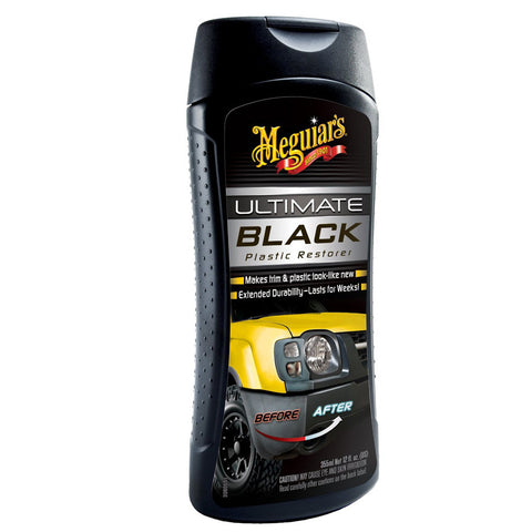 Restaurador de Plasticos (355 ml) Ultimate Black